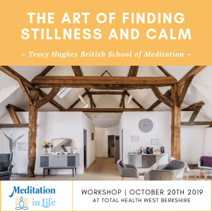 The Art of Finding Stillness and Calm - Workshop